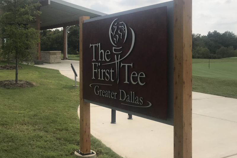 The First Tee Sign